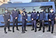 """Șase studenți de la Academia de Poliție """"Alexandru Ioan Cuza"""" în practică la Gruparea de Jandarmi Mobilă Craiova"""