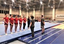 Gimnastele de la națională au lăsat Deva pentru București!