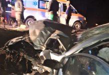 Accident rutier in Mehedinti, pe raza localitatii Scapau