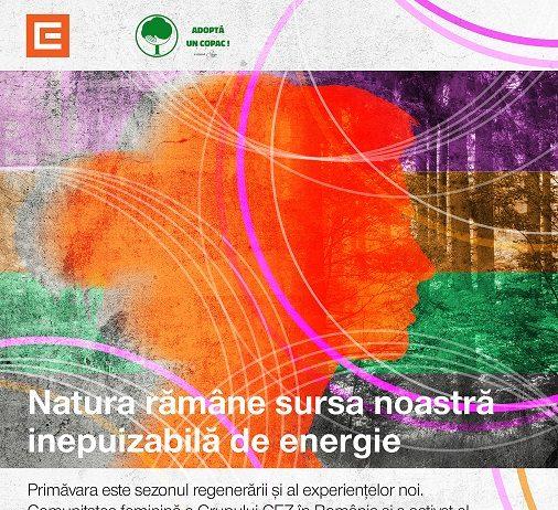 CEZ plantează 10.000 de metri pătrați de pădure în comunitatea sa