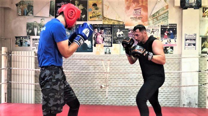 Cezar Juratoni e sparring partner pentru baietii de la nationala