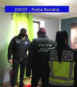 DIICOT împreună cu SCCO Giurgiu, cu Poliția Națională din Regatul Spaniei, cu EUROPOL, au efectuat percheziții domiciliare