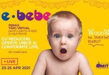 E-Bebe live by Doctor MIT targul virtual din Romania dedicat familiilor in crestere