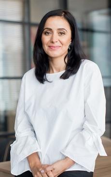 Georgiana Iliescu, Director Executiv al Fundației Globalworth