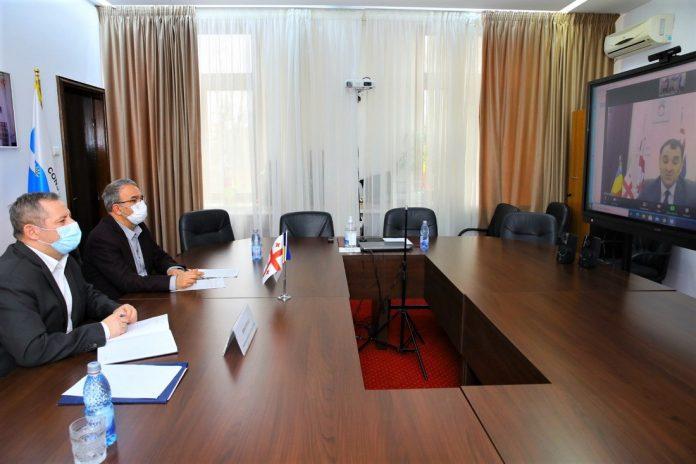 Primarul municipiului Constanta Vergil Chiţac a avut o discutie in format online cu primarul interimar al orasului Batumi din Georgia Archil Chikovani