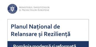 Planul Național de Relansare și Reziliență PNRR include investiții în domenii prioritare