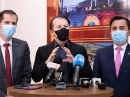 Premierul Florin Cîțu prezent la o dezbatere organizată de CJ Vrancea cu reprezentanții UAT - VIDEO