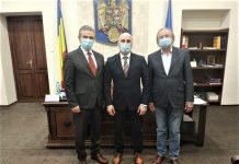 Presedintele UNPR Ioan Lucian primit de prefectul județului Bihor Dumitru Tiplea