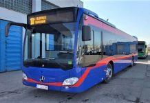 Primul dintre cele 15 autobuze hibrid Mercedes-Benz achiziționate cu fonduri europene a sosit la Oradea