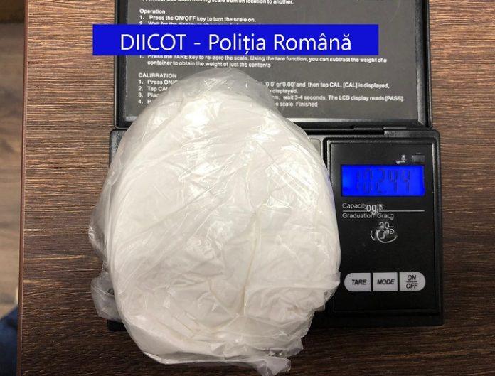 Traficant de droguri prins in flagrant de procurorii DIICOT Timisoara
