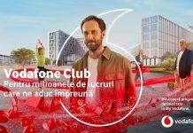 Vodafone Club este disponibil pentru toti clienții si vine cu noi oferte in luna Martie
