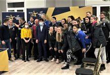 Gabi Szabo alături de handbalistele de la CSM București - ne dorim să fim cei mai buni din Europa