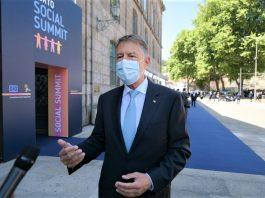 Declaratie de presa sustinuta de Klaus Iohannis in Portugalia la Porto